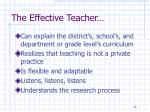 the effective teacher2