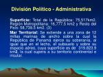 divisi n pol tico administrativa1