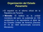 organizaci n del estado paname o1