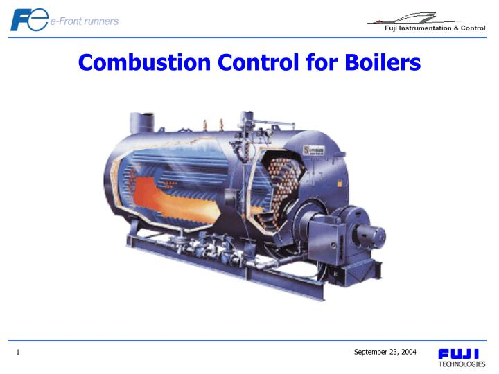 combustion control for boilers n.