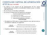 cuenta de capital de aportaci n cuca art 89 lisr