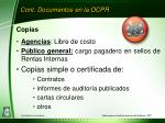 cont documentos en la ocpr