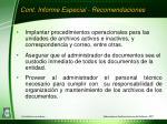 cont informe especial recomendaciones1