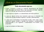 qu es un documento fiscal