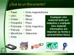 qu es un documento
