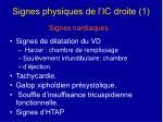 signes physiques de l ic droite 1