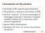 linfoadenite da mycobatteri