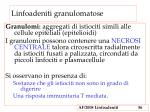 linfoadeniti granulomatose