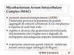 mycobacterium avium intracellulare complex mac