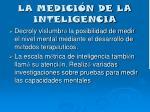 la medici n de la inteligencia