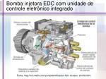 bomba injetora edc com unidade de controle eletr nico integrado