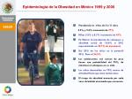 epidemiolog a de la obesidad en m xico 1999 y 2006