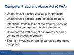 computer fraud and abuse act cfaa