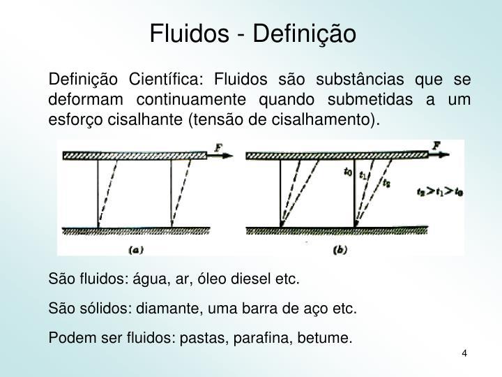 Fluidos - Definição