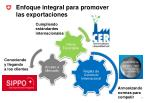 enfoque integral para promover las exportaciones