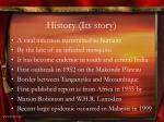 history its story