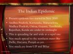 the indian epidemic