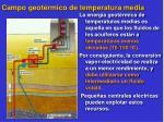 campo geot rmico de temperatura media
