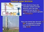 central solar t rmica