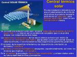 central t rmica solar