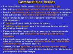 combustibles f siles