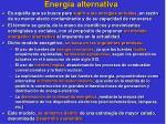 energ a alternativa