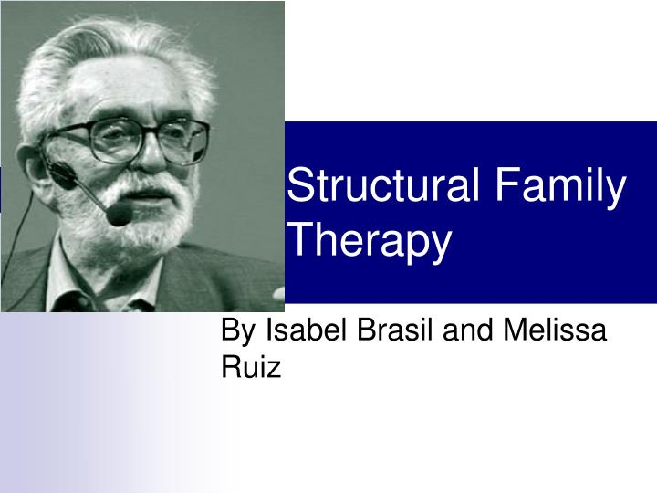 structural family therapy n.