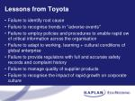 lessons from toyota