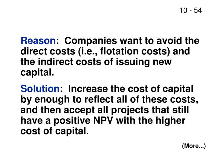 """chapter 11 14the basics of capital budgeting 1 chapter 11 the basics of capital budgeting please read chapter 11 you can skip  chapter 11: capital budgeting: decision criteria overview and """"vocabulary"""" methods payback, discounted payback npv irr, mirr profitability index should we build this plant lecture twelve capital budgeting the basics."""