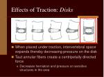 effects of traction disks4