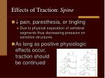 effects of traction spine1