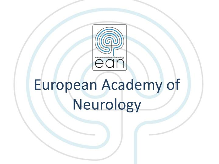 european academy of neurology n.