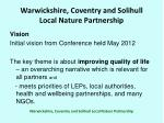 warwickshire coventry and solihull local nature partnership