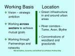 working basis location