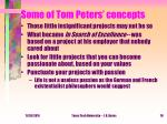 some of tom peters concepts