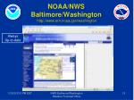 noaa nws baltimore washington