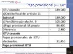 pago provisional art 9 ietu3
