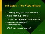 bill gates the road ahead