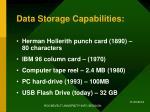 data storage capabilities