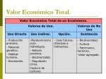valor econ mico total