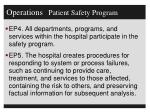 operations patient safety program1