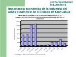 importancia econ mica de la industria del arn s automotriz en el estado de chihuahua