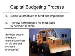 capital budgeting process3