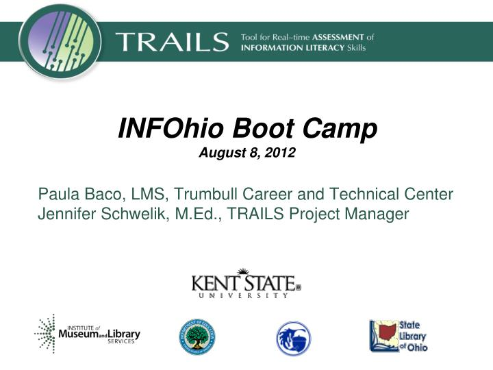 infohio boot camp august 8 2012 n.