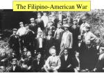 the filipino american war