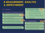 8 measurement analysis improvement