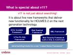 what is special about v11