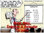 molar mass empirical molecular formulas