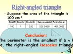 right angled triangle1