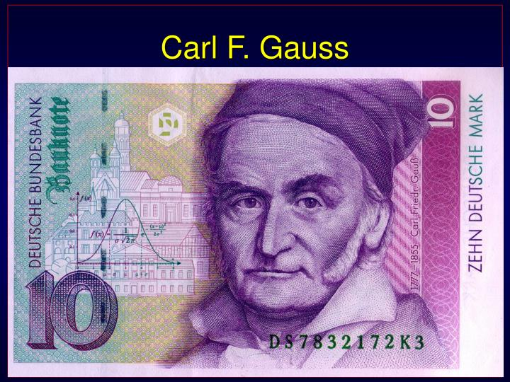 carl f gauss n.